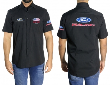 Ford Racing Apparel >> Jacket And Shirt Ford Shirt Ford Racing Team Crew
