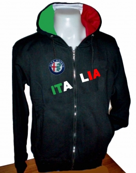 Jacket And Shirt Alfa Romeo Hoodie Hooded Sweatshirt Racing