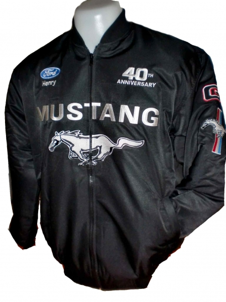 jacket and shirt ford mustang gt jacke 40 years ford. Black Bedroom Furniture Sets. Home Design Ideas