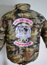Camouflage  - Outdoor Jacke Bomberjacke -Sons of Arthritis --Ibuprofen Chapter