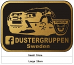 Duster Car Patch large
