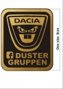Duster logo Patch small
